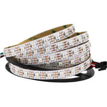 Indivally מיעון ws2812b 60led/m rgb חלום צבע <span class=keywords><strong>led</strong></span> רצועת <span class=keywords><strong>פיקסל</strong></span> 5 m