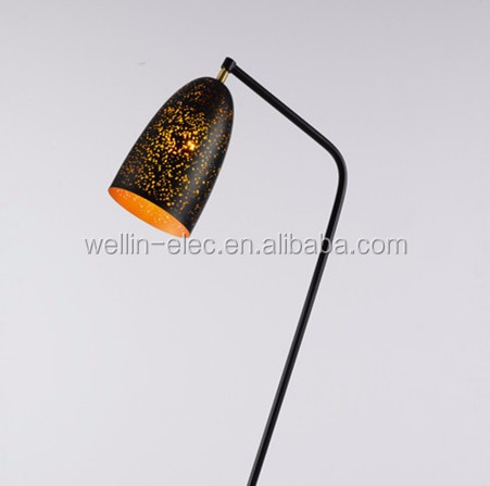 Fancy Vintage Metal Home Decor Dining Room Lights Standing Floor Lamp