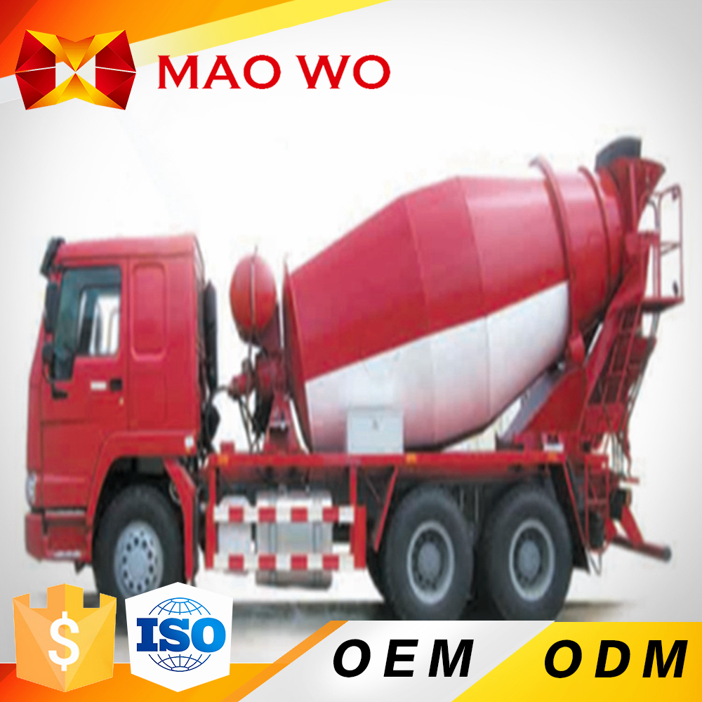 Howo 6cbm small second hand cement concrete mixer truck for sale