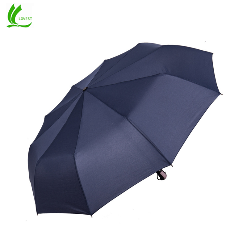 23inches 10K compact 3 Fold auto open& auto close UV Protection Umbrella