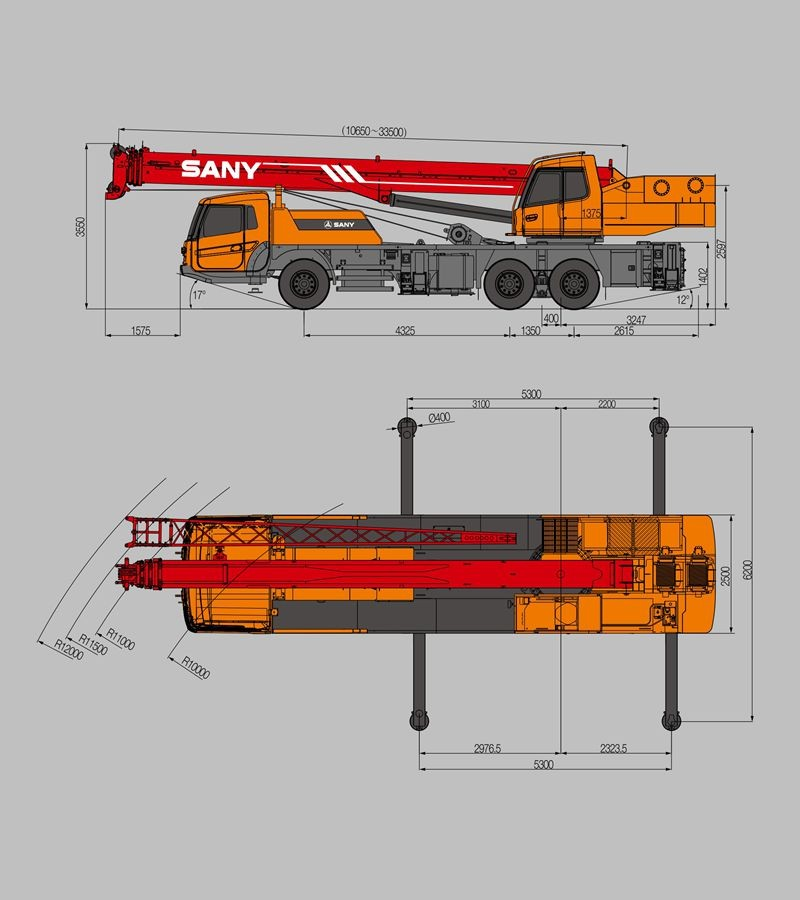 Sany Stc250 25 Tons Lifting Capacity Advanced Technology Of Mobile Crane  Specification - Buy Mobile Crane Specification,Mobile Crane Truck,Truck  Crane