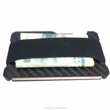 Tuopuke high class slim carbon fiber wallet rfid saft wallet for men/women perfect gifts