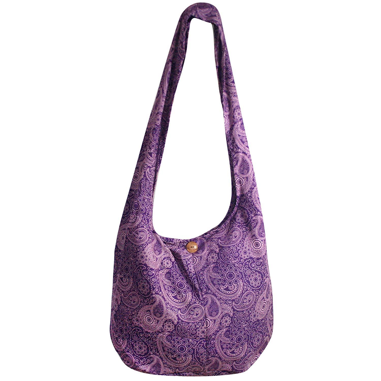 a8e6c79516ff Tonka Cotton Bohemian Boho Hippie Bag Crossbody Shoulder Bags Messenger  Beach bags Purses