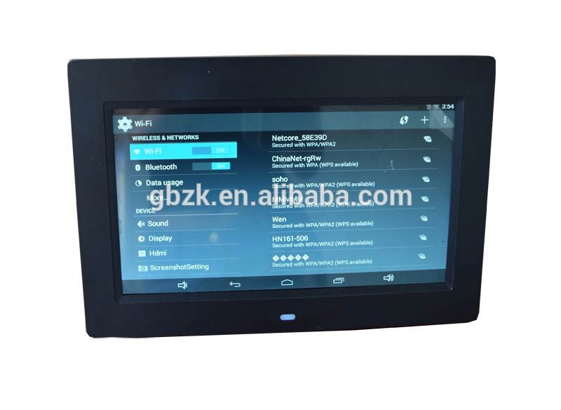 10 zoll LCD-display solarwerbedisplay