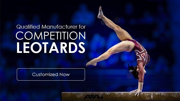 Custom embroidery logo gymnastics leotards girls custom sublimation leotards
