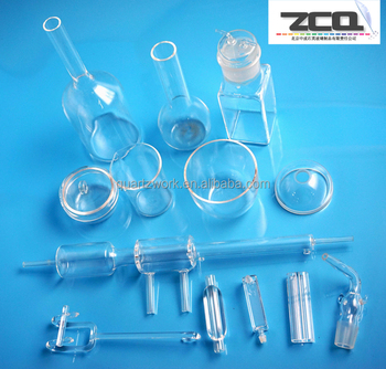 High Purity Quartz Glass Bottle With Welding Technology