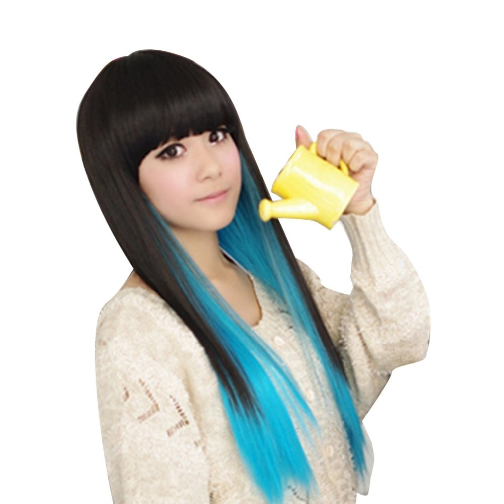Cheap Black And Blue Wig Find Black And Blue Wig Deals On Line At