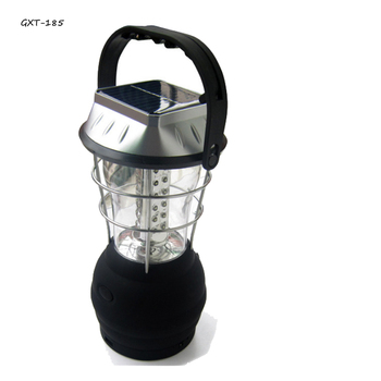 Easy to Take Rechargeable Hand Crank Lantern Plastic Solar Lantern