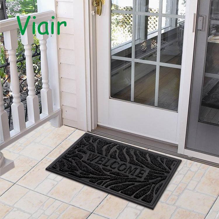 الباب الأمامي حصيرة قسط مدخل ترحيب حصيرة قوي ودائم ، تحلل داخلي/في الهواء الطلق حصيرة ترحيب حصيرة