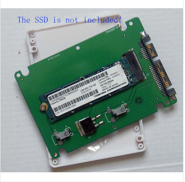 """2.5"""" Sata Adapter Card With Case For Lenovo X1 Carbon 20+6 Pin Ssd ..."""