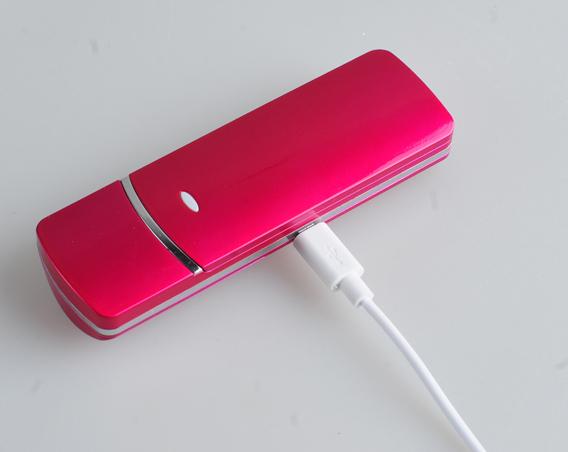 Elektrische draagbare USB oplaadbare schoonheid apparatuur mini ultrasone nano ionic facial steamer