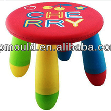 injection kid Stool molds Plastic furniture moulds china supplier