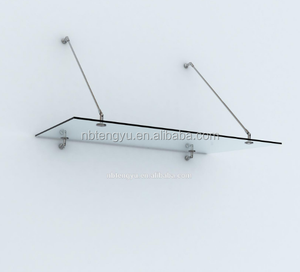Stainless Steel Canopy Building Hardware Canopy Holder Glass Awning