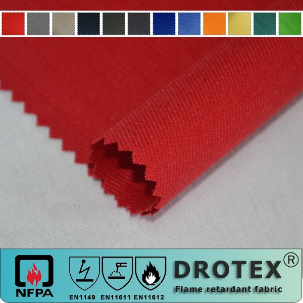 Fire Proof Cotton Material Textile Fabric Supplier,FR Satin Wholesale Fabric Cloth,Flame Resistant Clothing Fabric Manufacturer