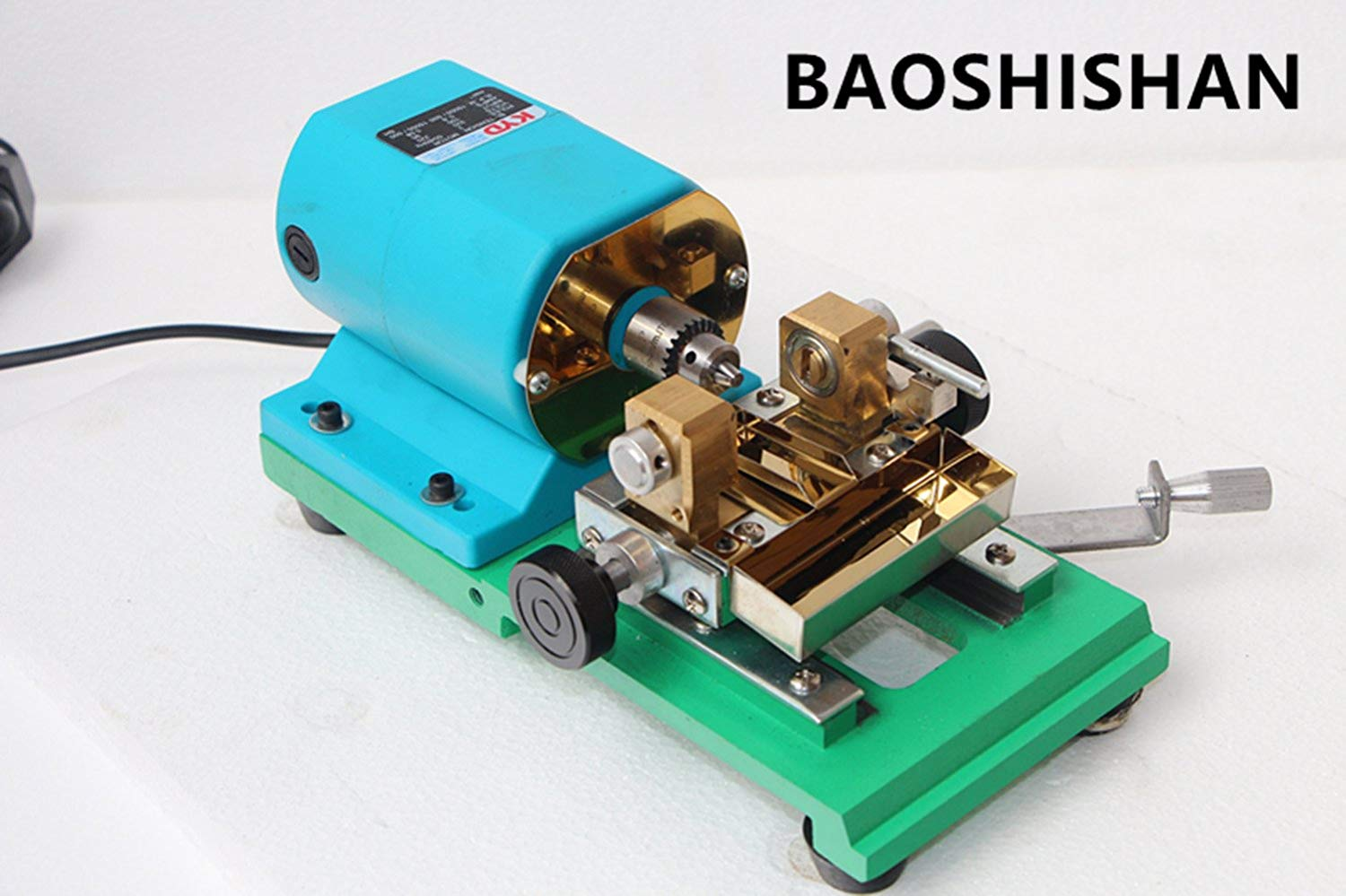 Pearl Holing Machine Speed Adjustable Pearl Drilling Machine Jewelry Making Supplies 360W (BLUE-G(110V))