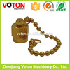 Matel type sma male/plug dust cup with chain high quality