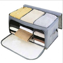 Wholesale clothing collapsible storage box/case