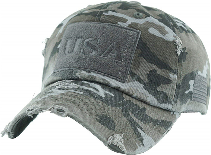 Tactical Operator Collection With Usa Flag Patch Cap Us Army Military  Baseball Cap Camo Dad Hat - Buy Tactical Cap,Vintage Camouflage  Cap,Unstructured
