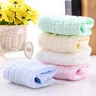 Organic Soft muslin facial cleaning exfoliating wash face cloths