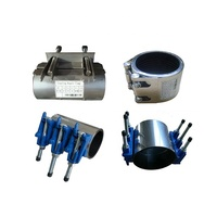 Water Pipe Repair Clamp For CI, DI, Steel/PE And PVC Pipe