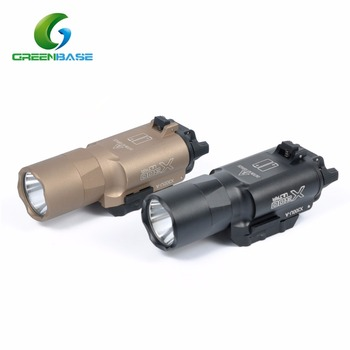 greenbase led weaponlight 350 lumens pistol light ar15 m4 87846