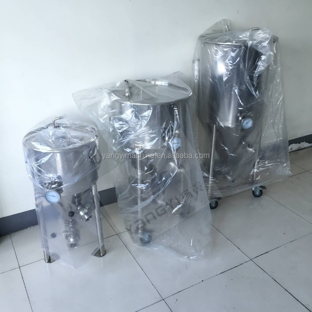 100L 200L 300L micro brewery stainless conical fermenter for sales