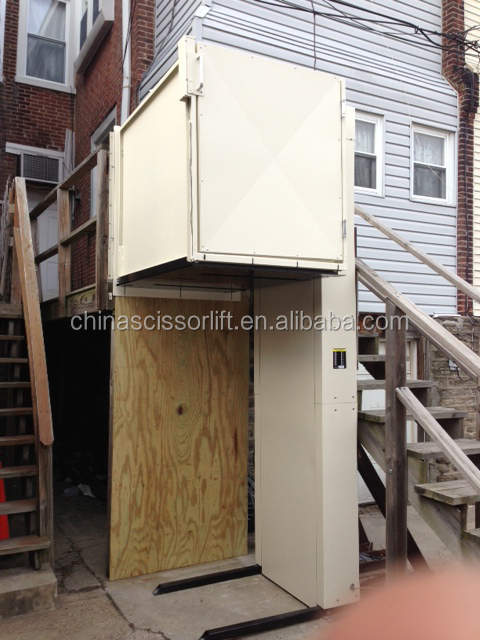 elevator buy disabled hydraulic lift small home elevator outdoor