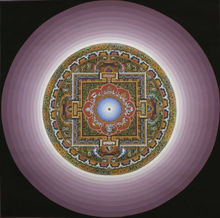 Lotus <span class=keywords><strong>Mandala</strong></span> Thangka