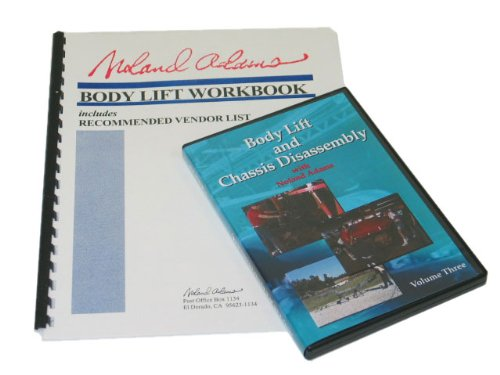 Corvette Body Lift & Chassis Disassembly DVD #3 and Manual