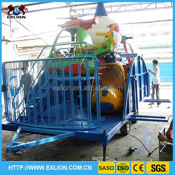 Funfair trailer and fold playground entertainment for Playground usati