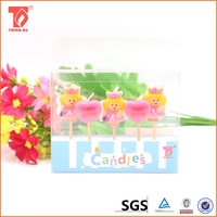 Cute baby stick Angle birthday candle