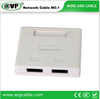 Best Price Single/Dual Ports RJ45 Faceplate 86 Type Faceplate High quality