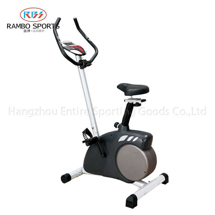 Popular exercise bike fitness equipment use at home