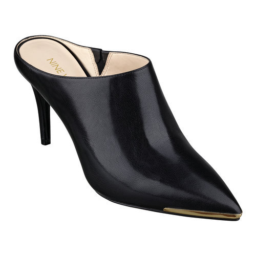 2e81478f9633 Get Quotations · Black Pointed Toe Artificial Leather Women Summer Shoes  2015 Thin Heel Big Girl Pageant For Women