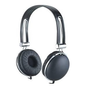Premium Over-Head Stereo Earphones Headset Headphones w/ Microphone for Apple iPod touch 5th generation (Black) + MYNETDEALS Stylus