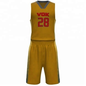 New design Top Sell basketball jersey design template
