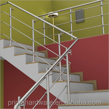 Simple Style Staircase Handrail Design Terrace Railing Designs