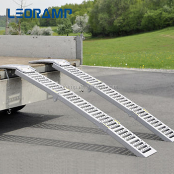 Aluminum Folding Tri Fold Motorcycle Temporary Ramps For Stairs