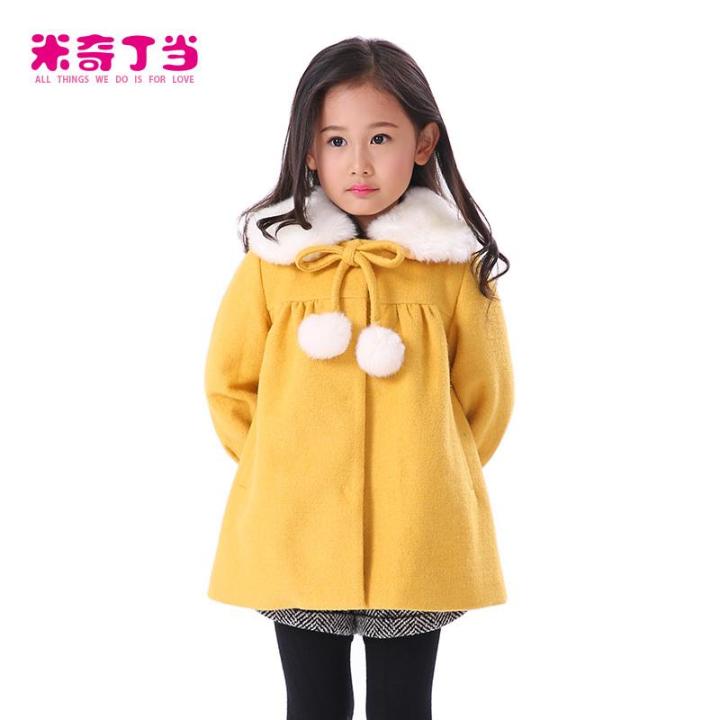 b7597cf82642 very warm winter coats New Cute Kids Girls Coat clothes children Woolen Coat  Outerwear Winter Warm