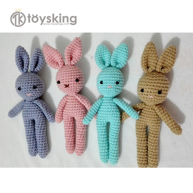 100% Cotton Handmade Crochet Amigurumi Bunny <strong>Rabbit</strong> Wholesale