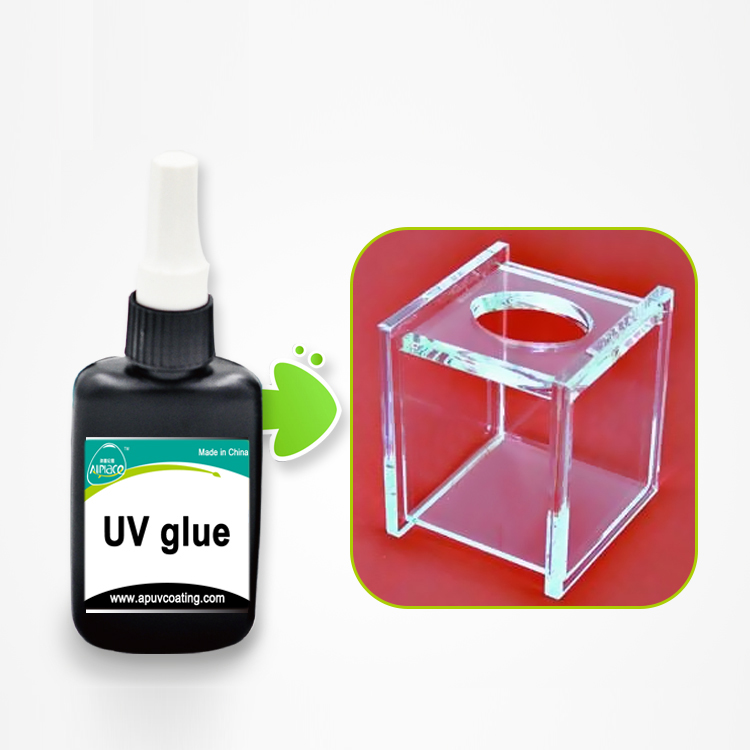Glass to Glass UV Adhesive Glue Metal Bond Glass UV Curable Glue