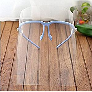 Novelty Kitchen Cooking Double-sided Anti-fog Anti-oil Splash Clear Face Mask Face Shield Protector