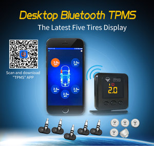2018 New design bluetooth TPMS with LED display with smart phone connection