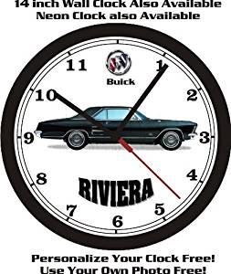 1963 BUICK RIVIERA WALL CLOCK-FREE USA SHIP!