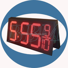 Hot sale led display panel price for gas station