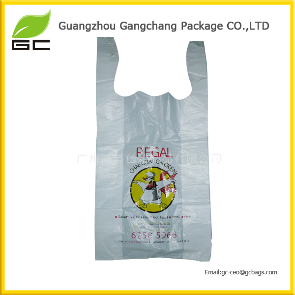 PE HDPE LDPE Package Vest Shopping Plastic Bag For Gift