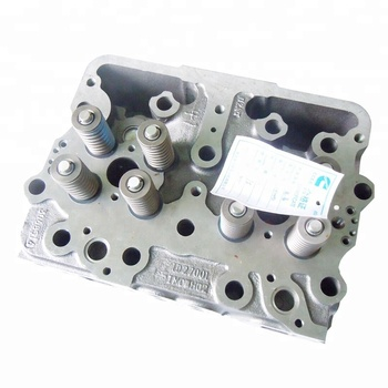 Diesel engine cast Iron K19 4915442 cylinder head for tractors