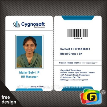 High Quality Pvc Plastic Barcode Student Id Card View Barcode