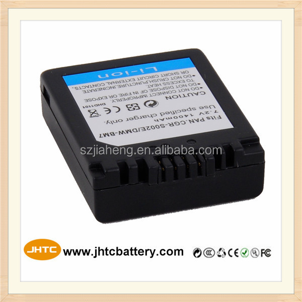 Digital Camcorder Camera Battery for Panasonic CGR-S002E Camera Batteries