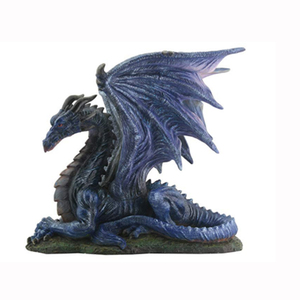 Hand Crafted Resin Chinese Dragon Statue
